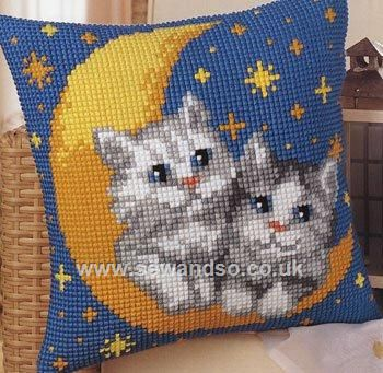 Kittens Cushion Front