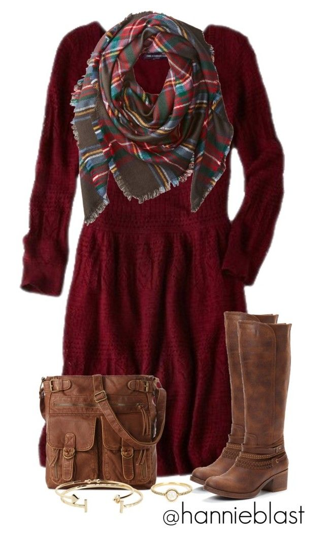 """Christmas Reunion"" by hannieblast ❤ liked on Polyvore featuring American Eagle Outfitters, Buji Baja, Mix No. 6, Aéropostale and Irene Neuwirth"