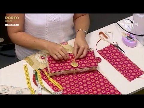 Costurar uma Capa para Livro - Costura com Riera Alta - YouTube