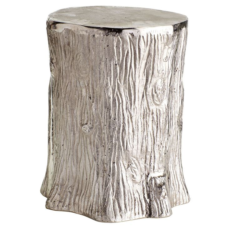 Metallic Faux-bois Stool - New Wisteria  sc 1 st  Pinterest & 116 best Stools. *giggle* (Garden u0026 Ottomans) images on Pinterest ... islam-shia.org