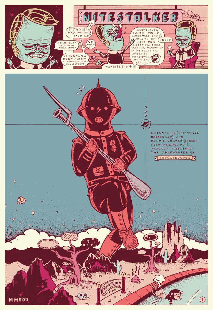 Satanville, Page 1 by 1upNimrod.deviantart.com on @deviantART