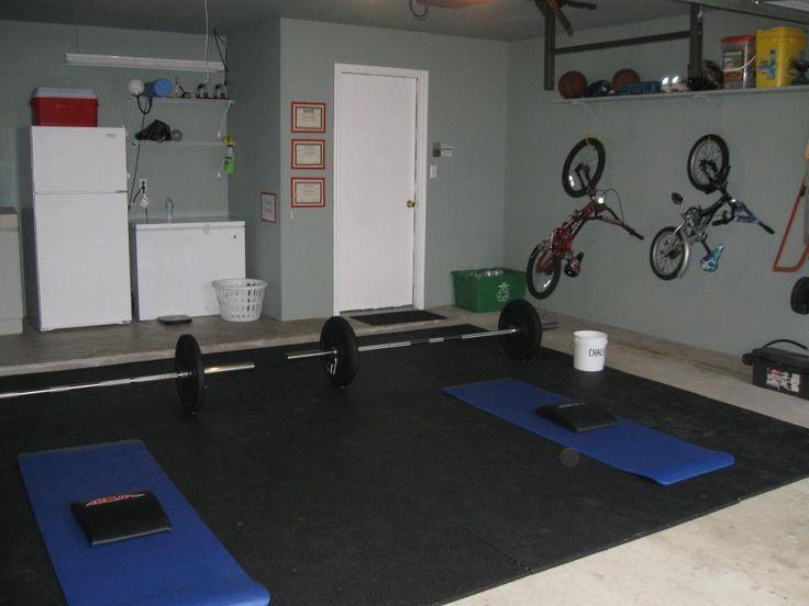 Ideias sobre academia caseira na garagem no