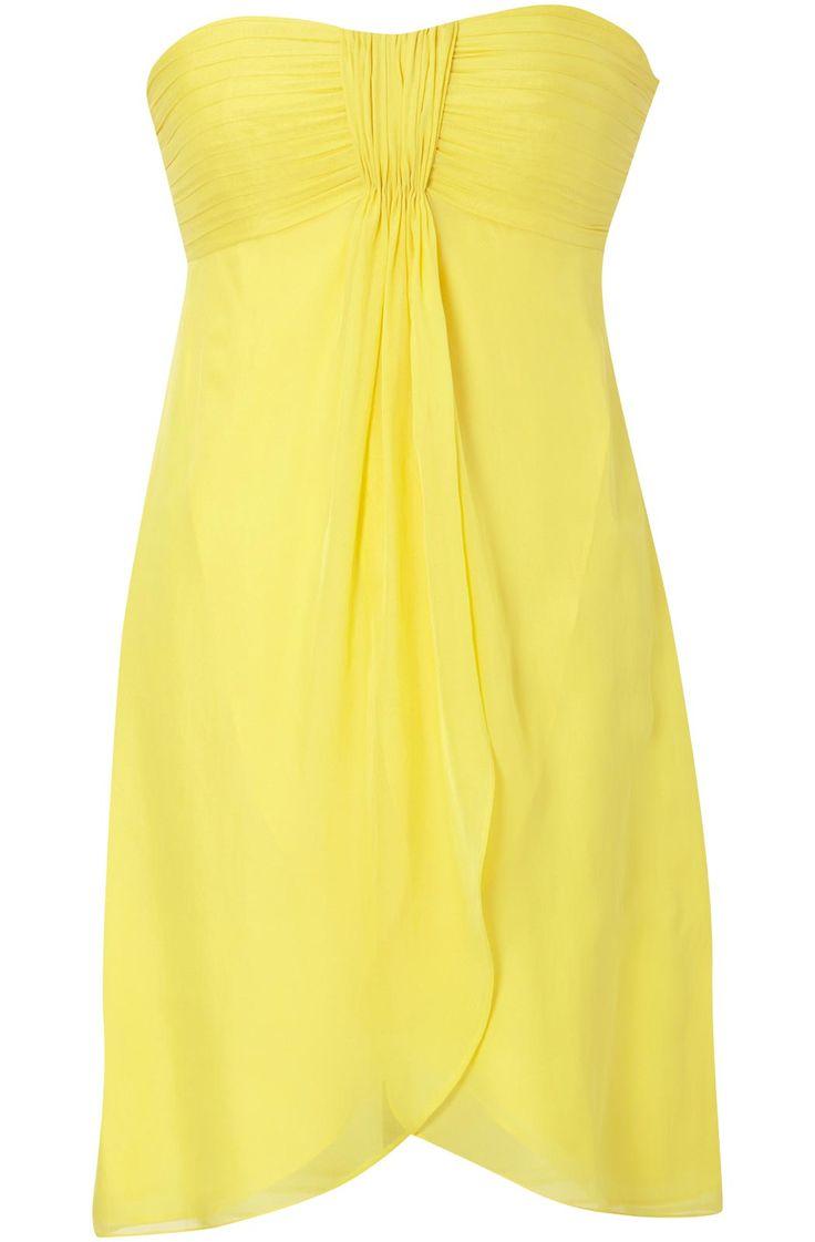 Best 25 bandeau bridesmaids dresses ideas on pinterest bandeau yellow and black bridesmaid dresses all women dresses ombrellifo Choice Image
