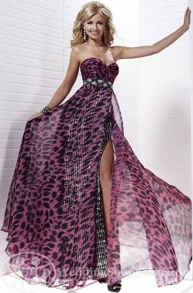 leopard print wedding dress | ... Prom Dresses: Shop Leopard Printed Prom Dresses 2012 at Wedding Shoppe