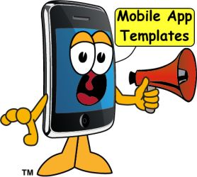 Mobile App Templates - a quick start method to building a mobile app