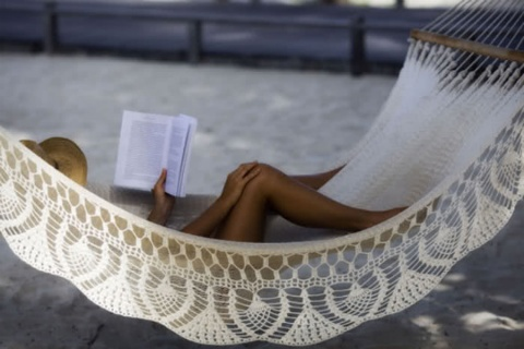 readingSummer Day, Dreams, Lazy Day, At The Beach, Reading A Book, Crochet Hammocks, Places, Good Book, Heavens