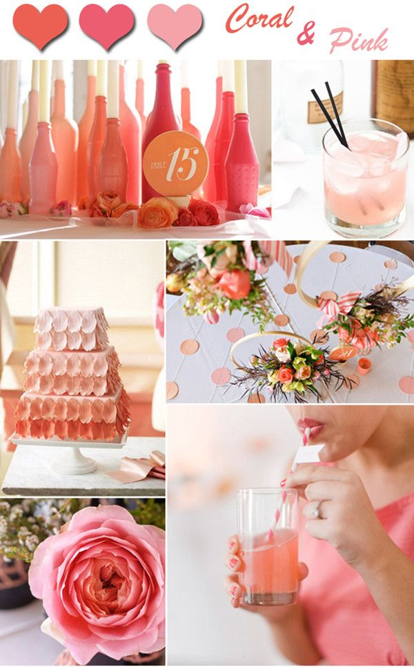 Salmon colored Spring inspirations...take the winter away