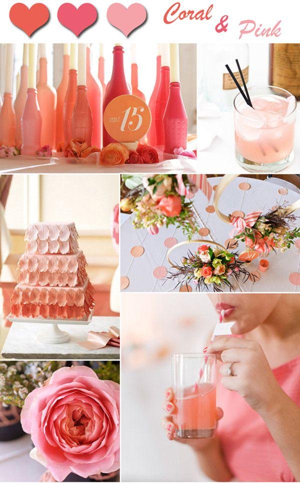 Salmon Colored Wedding Inspiration Weddinglove