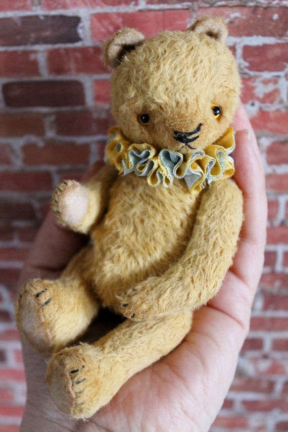 This is one of Rachel Bailey's bears, made with/from viscose. Willow designs