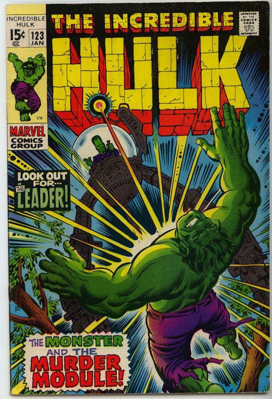 The Incredible Hulk Comics | The Incredible Hulk Comic #123 (1970) - $5.99 : Comic MegaStore Corp ...