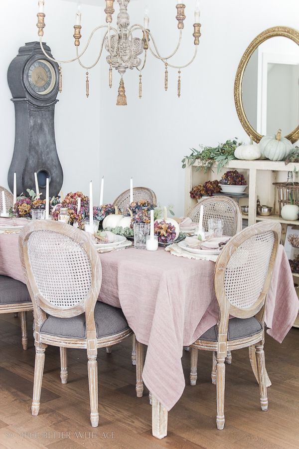 French Country Fall Dining Room | So Much Better With Age