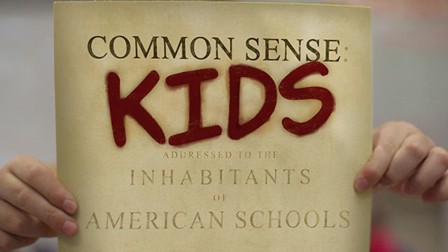 Common Sense Kids by TINT Studios. Common Sense Kids began as an exercise in persuasive writing. Following Apple's Education Event in January 2012, a group of 4th grade students at Jackson Elementary in Atlanta, GA were given an assignment to discuss and present their take on the use of digital textbook technology in the classroom.