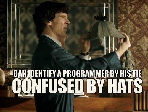 It's a stupid hat.Death Frisbee, Nerd, Ears Hats, Challenges, So Funny, Sherlock Holmes, Fandoms, True Stories, Deer