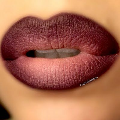 Make your pout extra sensual on your night out with this ombre lip in dark and nude shades. DIY with this how-to and the lip essentials suggested.