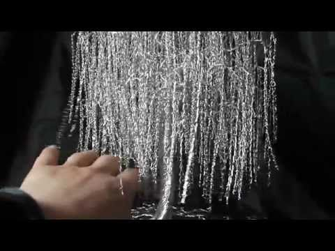 AVIA weeping willow wire tree metal aluminium sculpture wirepark wierzba - YouTube