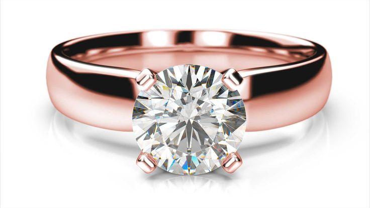 Zásnubný prsteň Becrux round