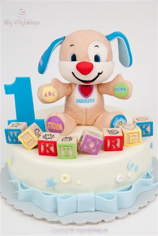 Swell Fisher Price Toy Cake With Images Puppy Birthday Parties Personalised Birthday Cards Beptaeletsinfo