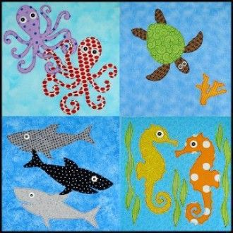 17 Best images about Quilts/Quilting - Fish/Ocean/Sea on Pinterest Cove, Quilt and Sailboats