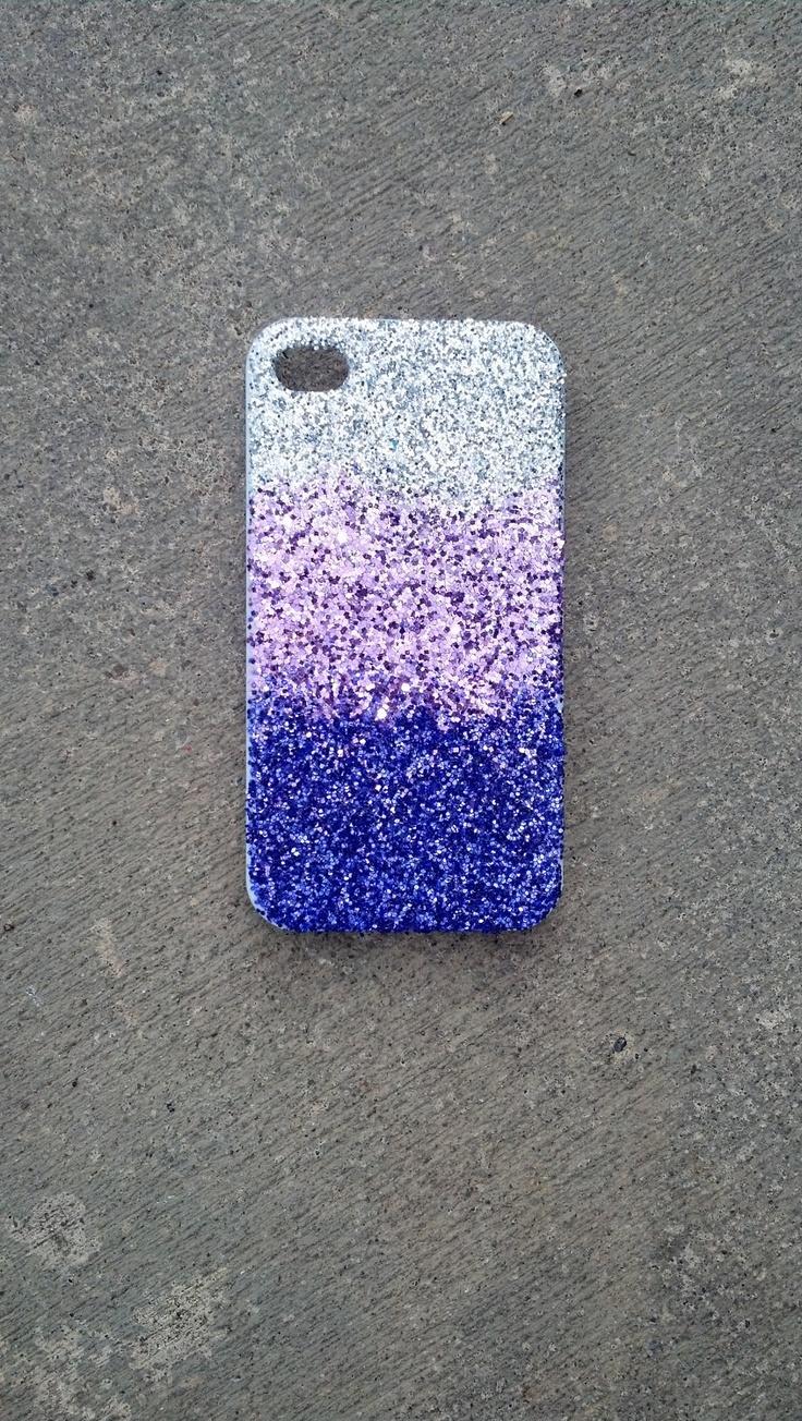 glitter iphone 4/5 case glitter case  ombre faded case iphone 5 case. $15.00, via Etsy.
