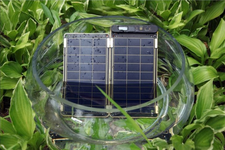 Super-thin, foldable Solar Paper can charge a smart phone in 2.5 hours