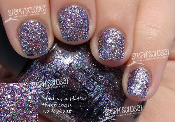 OPI Mad As A Hatter Nail Polish One of my favorite nail polish of all time!!