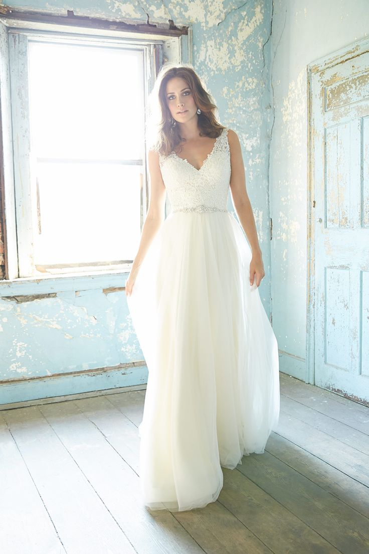 Come see us at Celebrations of the Heart! This is such a beautiful lace wedding dress! #lace #weddingdresses http://www.shopcelebrationsoftheheart.com/
