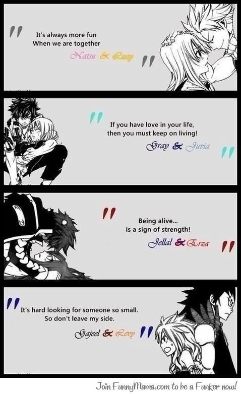 fairy tail erza and jellal relationship quotes