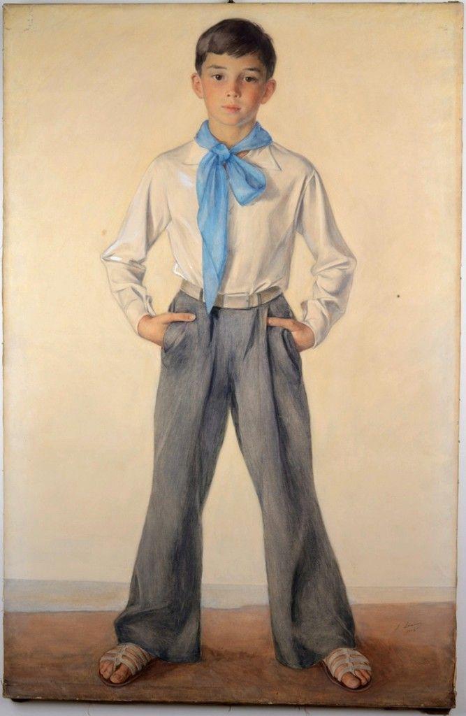 Савелий Сорин - Все интересное в искусстве и не только. Портрет Павла Сорина-племянника.  Эрмитаж.