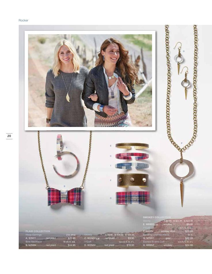 Plaid collection - 2014 fall winter catalog by Color By Amber
