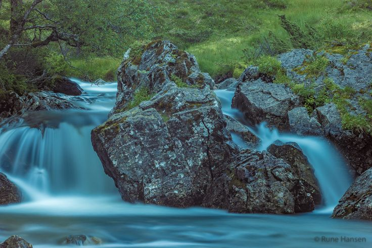 Waterfall by Rune Hansen on 500px