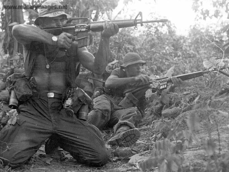 Men of the 101st Airborne Div.