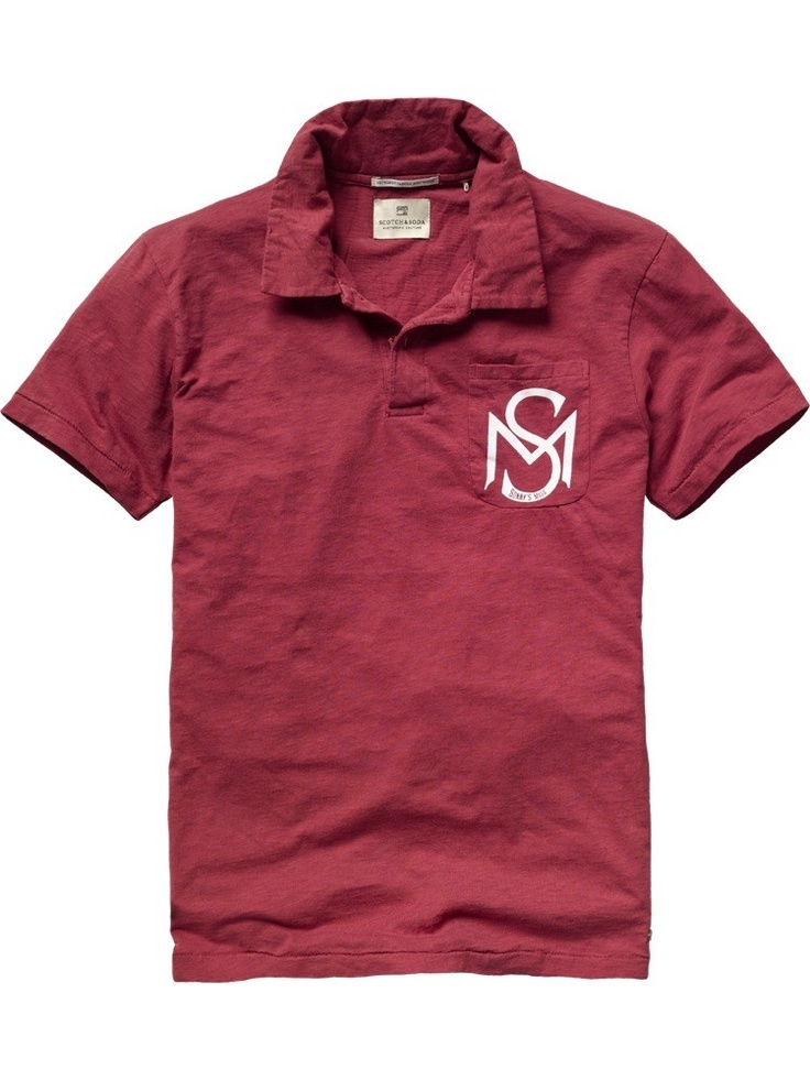 Colorful polo from Scotch & Soda; € 45,95