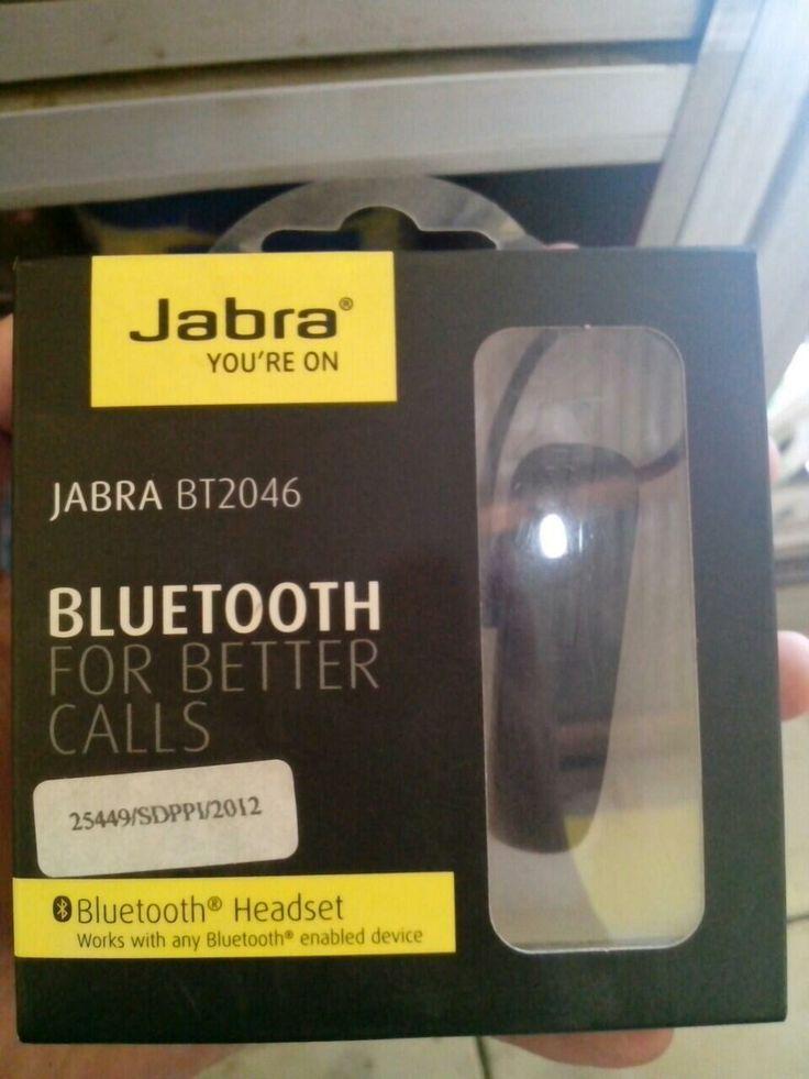 #fjbkaskus jabra bluetooth hf only 250k bnib order 08118880157