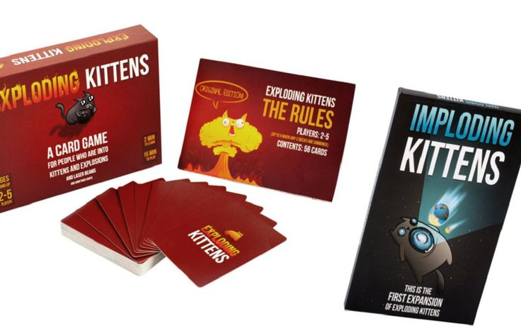 Exploding and imploding kittens in 2020 fun card games