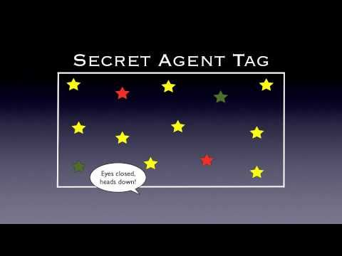 Physical Education Games - Secret Agent Tag - YouTube