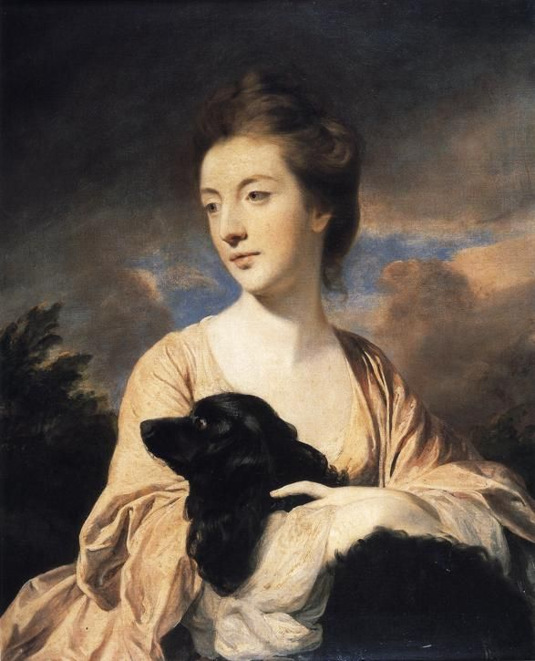 Sir Joshua Reynolds - Lady Charles Spencer. 1766. Oil on canvas. 79 x 63 cm. Trustees of the Goodwood Collection, Goodwood House, Sussex,...