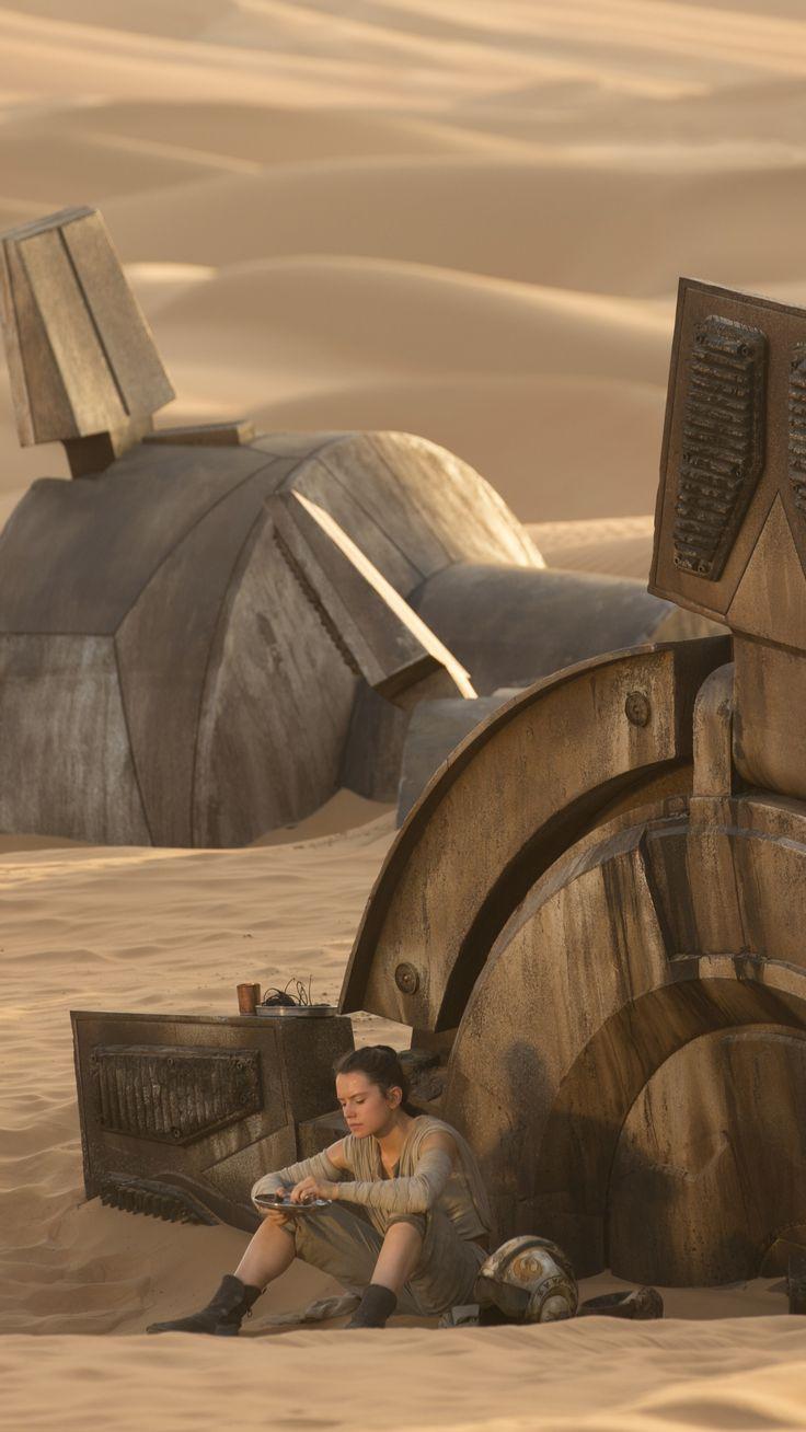 Movie Star Wars Episode VII: The Force Awakens Star Wars Rey Daisy Ridley.
