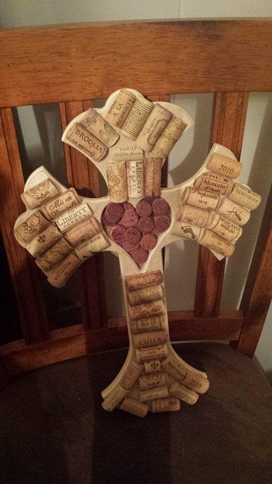 Wine Cork Cross Craft Nailed It I