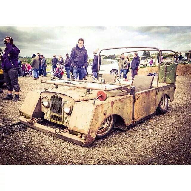 Slammed Land Rover Looks Like A Series Ii Wheels