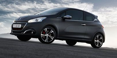 New textured colour Ice Silver for the new #Peugeot208 ! #Peugeot