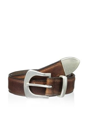 58% OFF Vintage Bison Men's Blackwater Belt (Saddle)