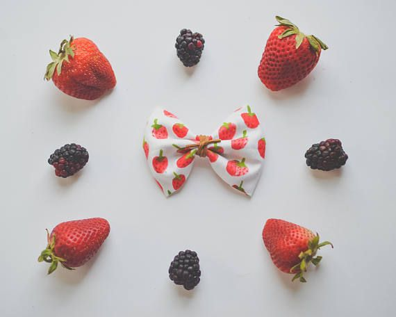 strawberry bow and suede cord watercolour nylon headband, strawberry picking outfit, modern baby style, boho baby, boho kid style, hippie, strawberry jam, cloth crowns