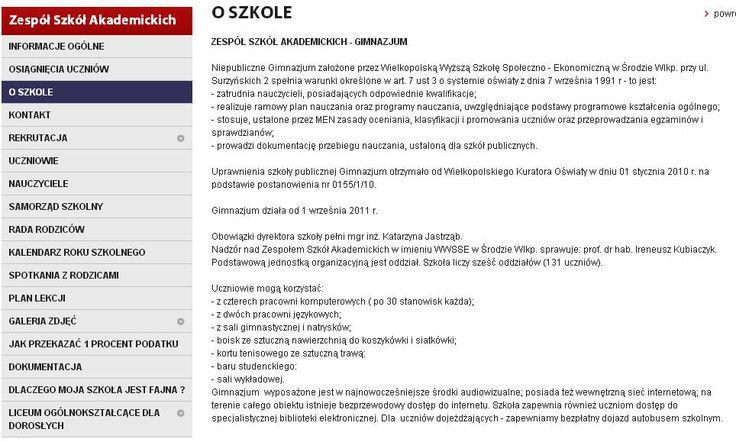 Gimnazjum w Zespole Szkół Akademickich w Środzie Wielkopolskiej dołącza do szkół eksperckich.
