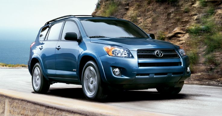 2012 Toyota Rav 4 Sport shown in Pacific Blue Metallic