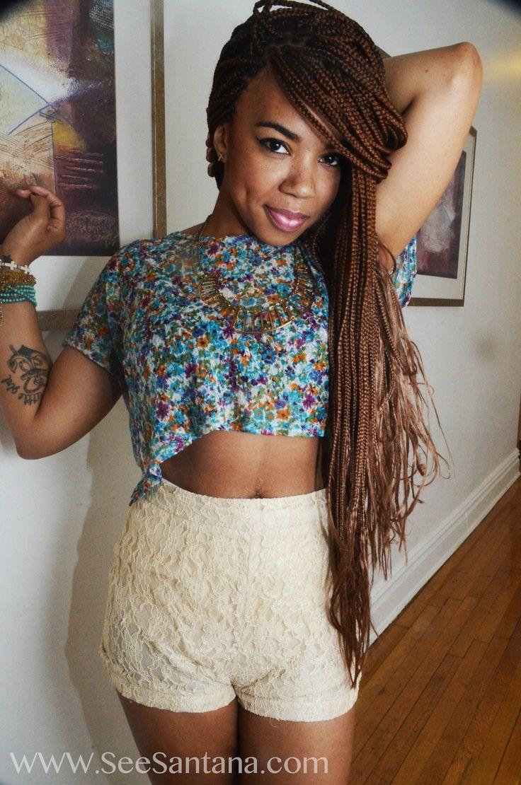 Black Women Braids Google Search Brown Box Braids