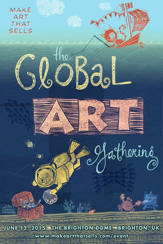 Created for Lilla Rogers' Global Art Gathering in Brighton