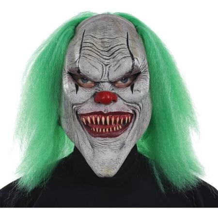 Evil Clown Mask Adult Halloween Accessory