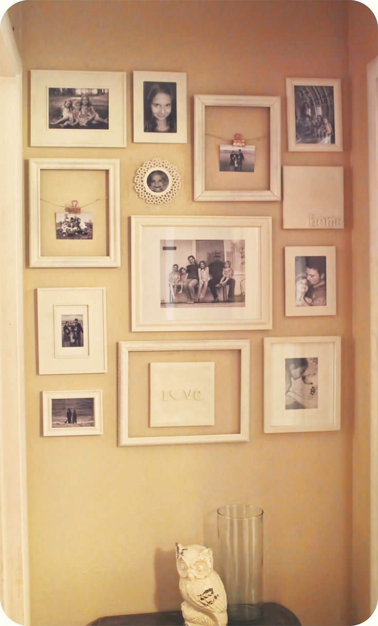 18 best Gallery Groupings images on Pinterest | Wall ideas, Craft ...