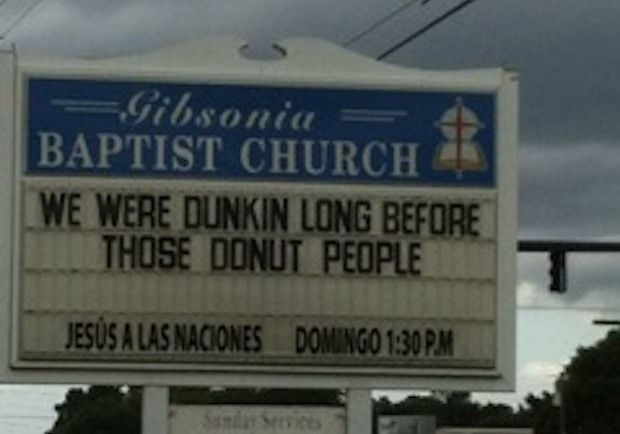 Church Signs of the Week — September 27, 2013 | The Exchange | A Blog by Ed Stetzer