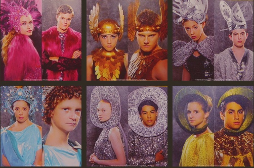 "More ""interesting"" costume choices for the tributes."